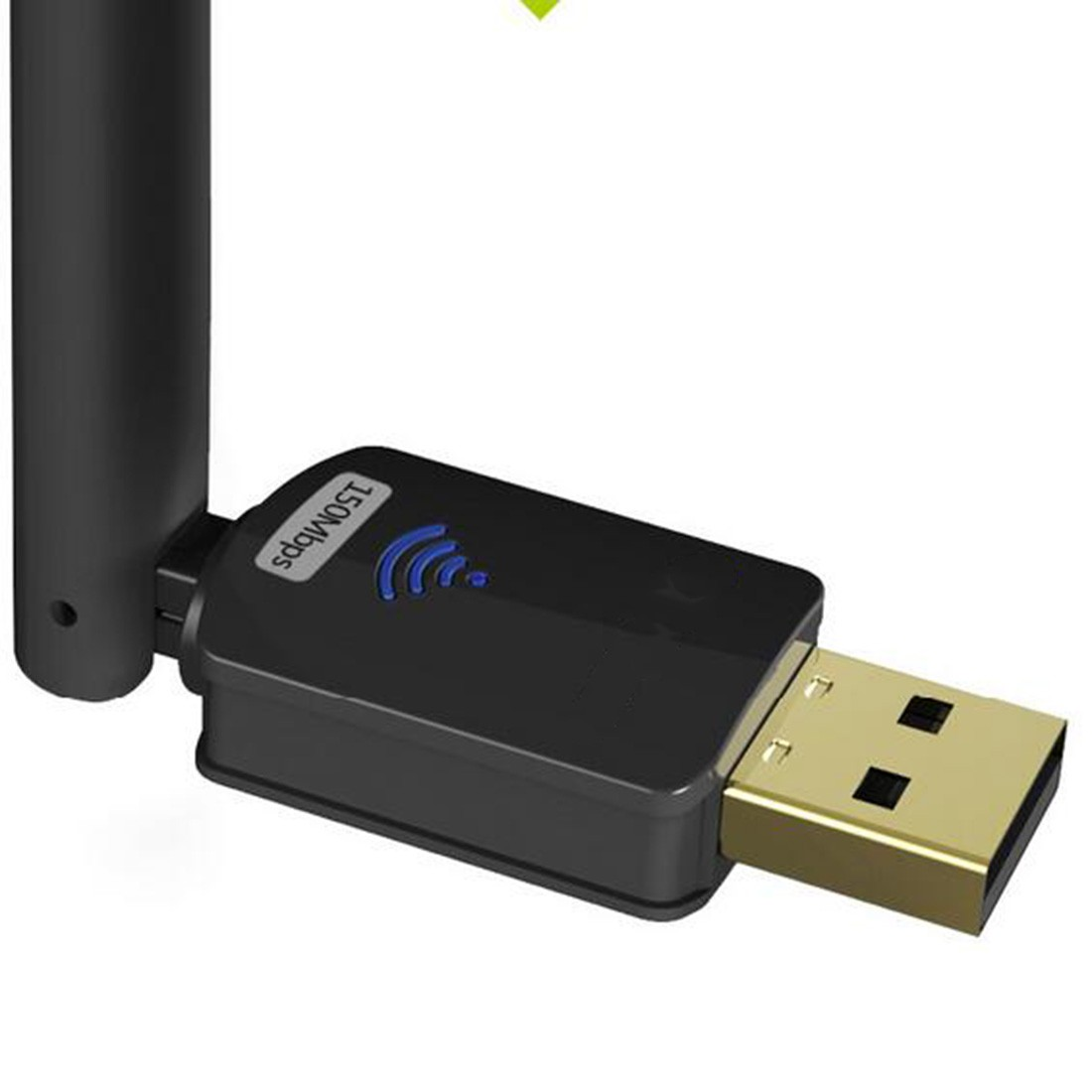 Etmakit Hot Selling Portable 150M MTK7601 Wireless USB Wifi Adapter Dongle Network Card With 6dBi Antenna in Network Cards from Computer Office