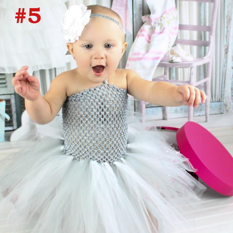 Niñas Rainbow Tutu vestido de hadas vestido de bebé mullido con - Ropa de bebé - foto 5