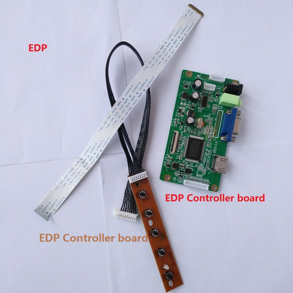 For LP173WF4-SPF1 HDMI DIY KIT VGA Controller Board EDP LED 17.3