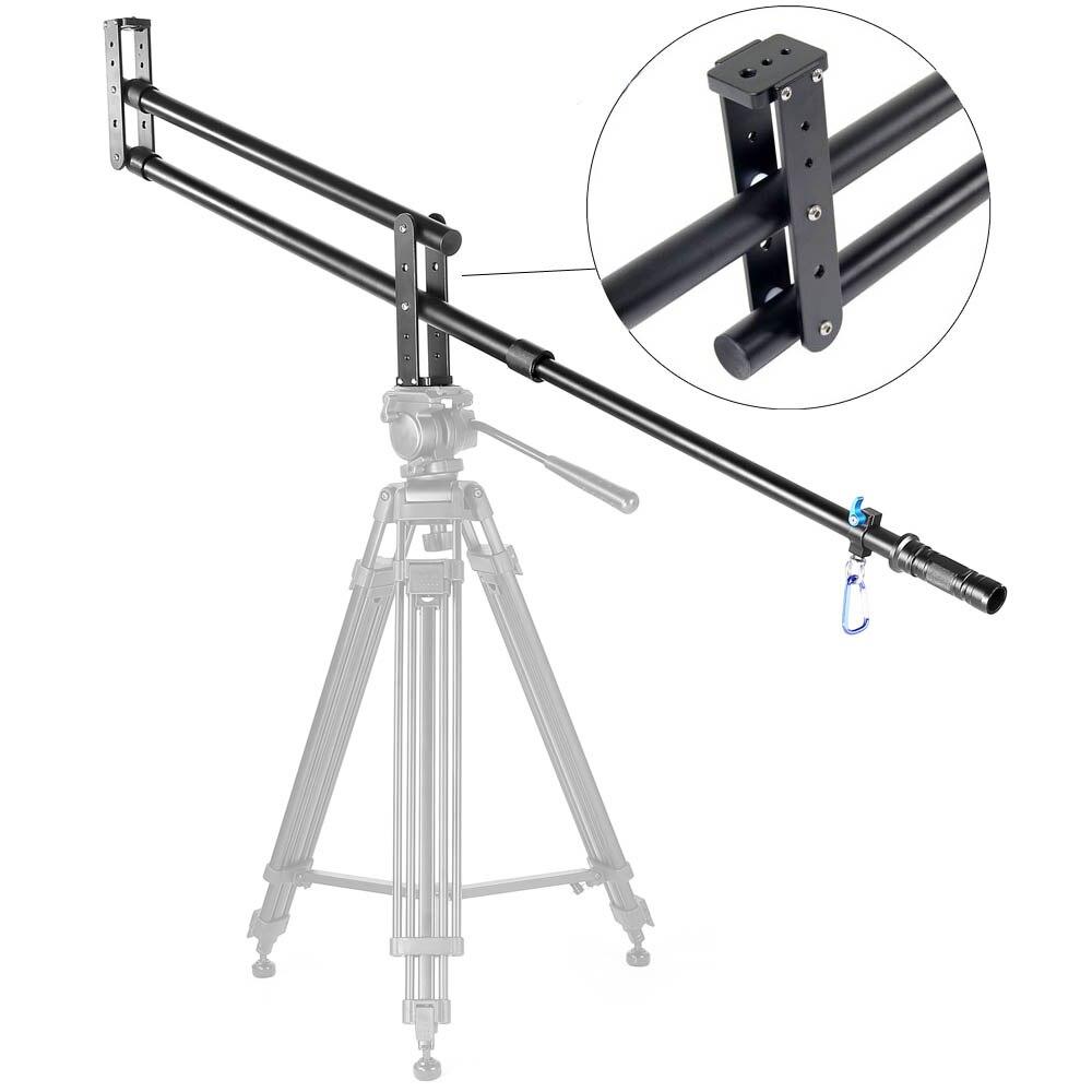 YELANGU Mini potence grue Portable professionnel DSLR caméra vidéo Extension bras grue potence pour DSLR DV accessoires Studio Photo