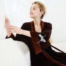 Couple Warm Lounge Sleepwear Dress Pajamas Hot Sale Women&Me