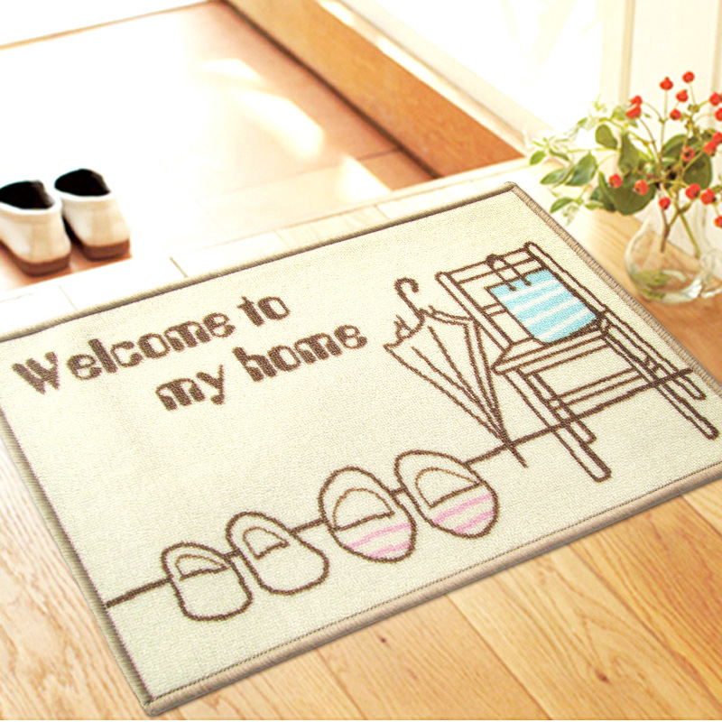 New Pastoral style Home Carpet multiple Colour Floor Carpets Rugs for Bedroom Bathroom Living Room 3D