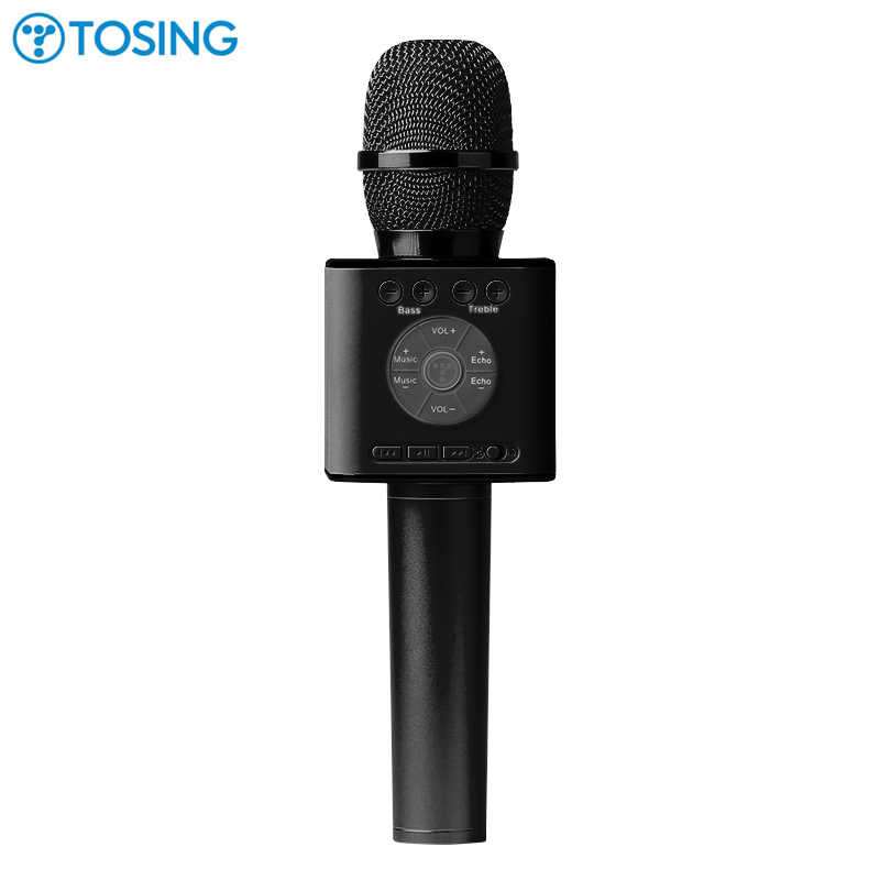 Latest Original Tosing 04 wireless Karaoke Microphone Bluetooth Speaker 2-in-1 Handheld Sing & Recording Portable KTV Player