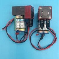 Hot sale UV flatbed plotter printer UV ink pump micro diaphragm pump for liquid or air DC 24V 3W 100~200ml/min JYY UV ink pump