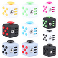 Squeeze Fun Stress Reliever Fidget Cube 6-side Relieves Anxiety and Stress Juguet For Adults Fidgetcube Desk Spin Toys DVR8716