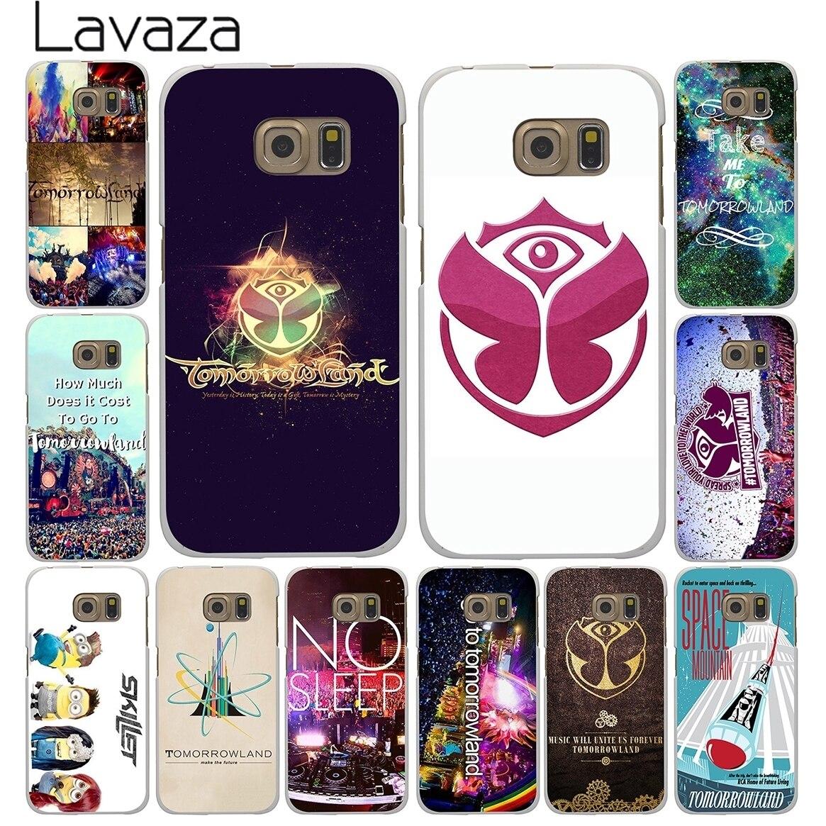 Lavaza Belgium Tomorrowland Music Festival Hard Style White for Samsung Galaxy S3 S4 S5 & Mini S6 S7 S8 Edge Plus Case Cover