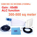 For500sq метр ж/антенна dual band booster GSM900Mhz Усилитель + 3 Г WCDMA 2100 МГц Ретранслятор dual band ретранслятор gsm 3 Г ретранслятор