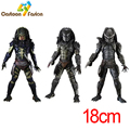NECA Movie AVP Alien vs Predator 2 Lost Predator Warrio Predator Scout Predator Action Figure