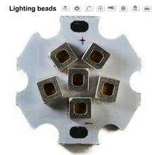 2pcs LED Colloid Lens COB 1000MA Chip Lamp 25W DC AC 19.2V-19.8V Input DIY for Spotlight Beads Warm White Cold