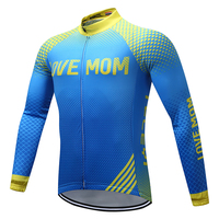 New Cycling Jersey 2018 Cycling Clothing Motocross Racing Sports MTB Bike Jersey Tops Cycling Wear Long