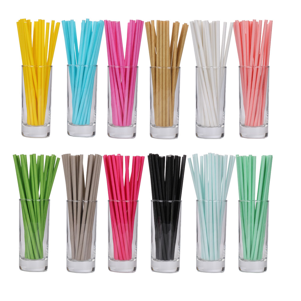 Free Products 25pcs/lot  Sky Blue Pink  Paper Drinking Straws Tubes Party Supplies Decoration Baby Shower