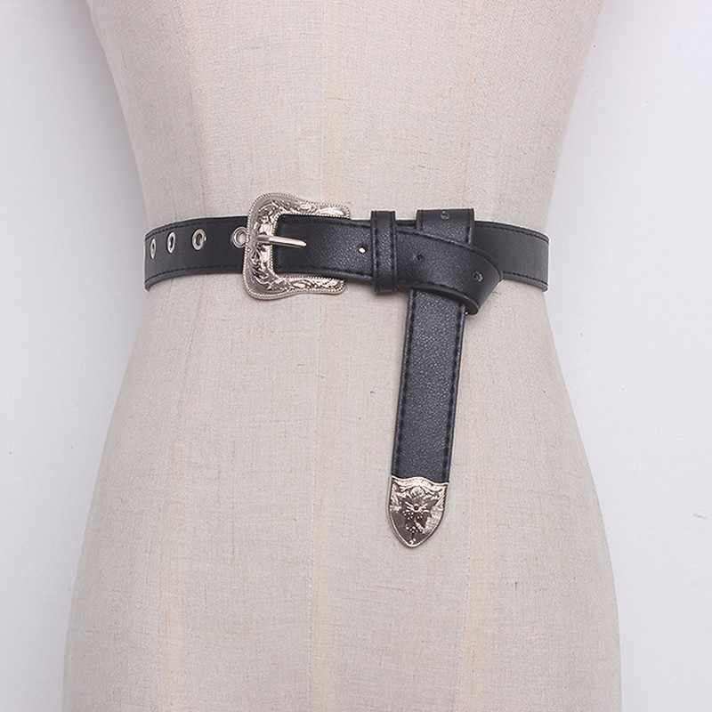 TWOTWINSTYLE ремень из искусственной кожи с сумка съемная цепочка пэчворк с высокой талией ремни женские летние модные Harajuku пояса