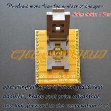 цена на IC TEST WSON32 to DIP32 Programmer adapter DFN32 MLF32 QFN32 ic test socket Pitch=0.5mm Size=5x5mm