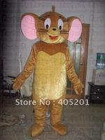 Eva Глава мультфильм Джерри талисмана костюм мыши качества животных талисман дизайн