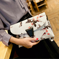 stacy bag 062816 hot sale lady fashion floral envelope bag female fashion clutch bag