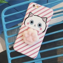 Squishy Lovely Cat Case for Iphone