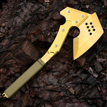 CF Gold Tomahawk Outdoor Camping Multifunction Axe Military Axe Car Emergency Survival Self Defense Hand Tools Ice Hatchet