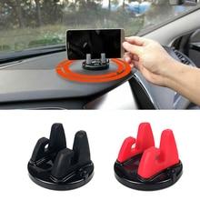 Автомобильный держатель для телефона на магните стойки вращающийся Поддержка нескользящие для Toyota Hilux Yaris Vios ВАЗ Калина Niva Samara 2 2110 Largus 2109 2107 2106