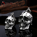 Steel soldier stainless steel men punk skull pendant domineering personality accessories jewelry BP8-042
