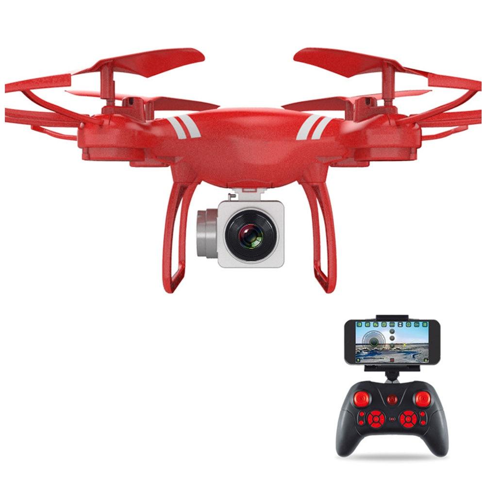360 ° Rotatie Real-time Transmissie Wifi Professionele Quadcopter Een Klik Terugkeer Verstelbare Afstandsbediening Vliegtuigen 3 Kleuren