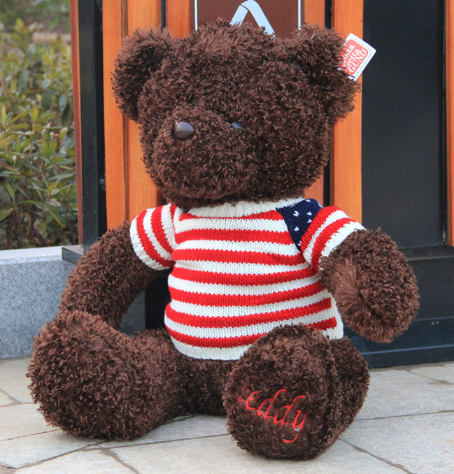 110cm High Quality giant teddy bear life size Lovely teddy bear stuffed Plush toy Cute Christmas valentine gift baby boy toys fancytrader new style teddt bear toy 51 130cm big giant stuffed plush cute teddy bear valentine s day gift 4 colors ft90548