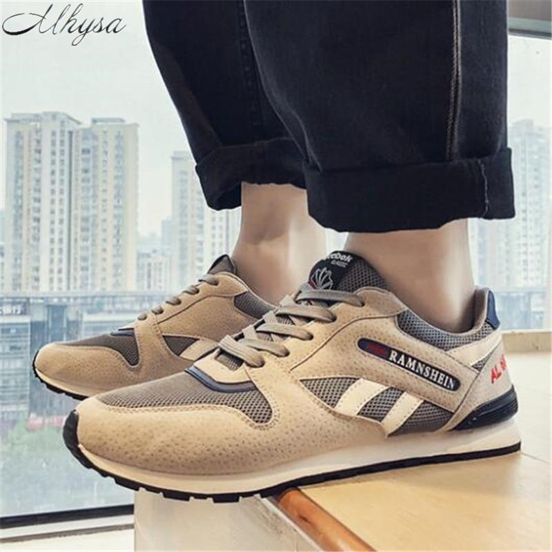 Herrenschuhe Mhysa 2019 Neue Herren Frühjahr Mode Bequem Und Atmungsaktiv Männer Casual Schuhe Der Bequemen Männer Flache Schuhe Sneaker L284