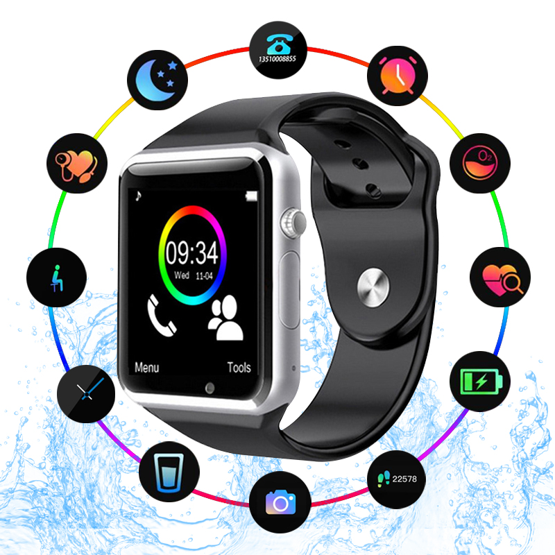 A1 WristWatch Bluetooth Smart Watch Sport Pedometer With SIM Camera Smartwatch For Android Smartphone Russia T15 good than DZ09A1 WristWatch Bluetooth Smart Watch Sport Pedometer With SIM Camera Smartwatch For Android Smartphone Russia T15 good than DZ09