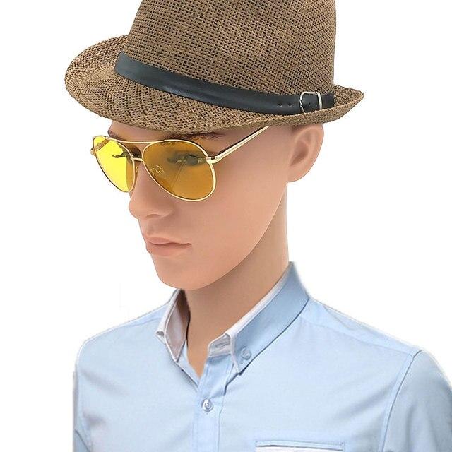 3e08897eb5 Gafas De Sol polarizadas Lentes amarillos para hombre gafas De Sol para  conducir en la oscuridad
