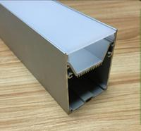 Free Shipping 1m Pcs 5pcs Lot Big Size Aluminum Profile With Heat Sink And PC Diffuse