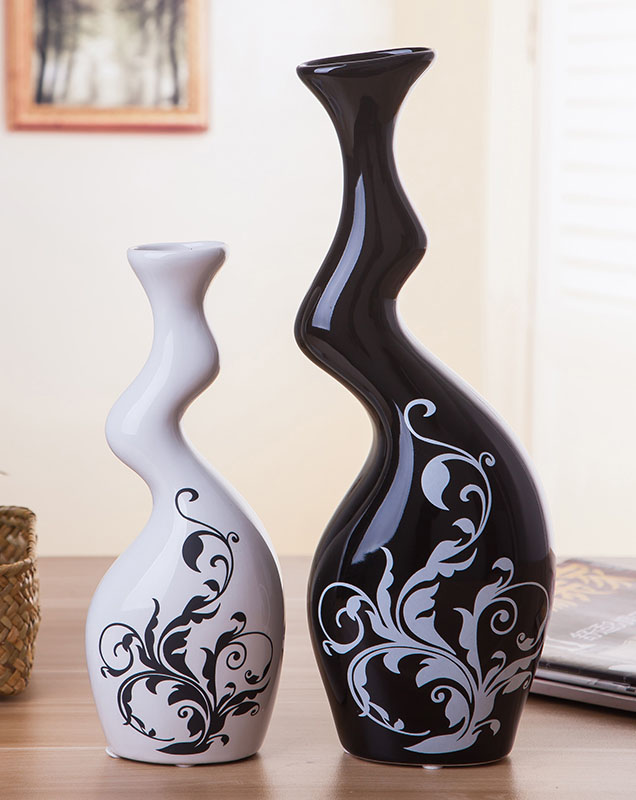 Exquisite Interesting Chinese Modern Porcelain Black And White