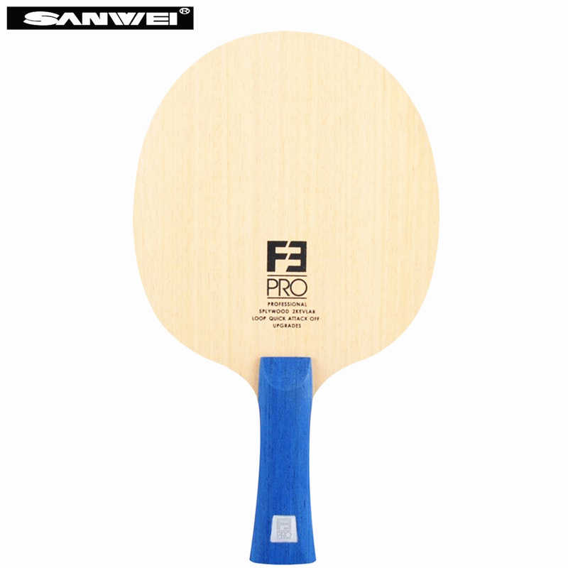 SANWEI F3 Pro Table tennis blade 5 wood+ 2 Arylate carbon premium ayous surface OFF++ ping pong racket bat paddle tenis de mesa
