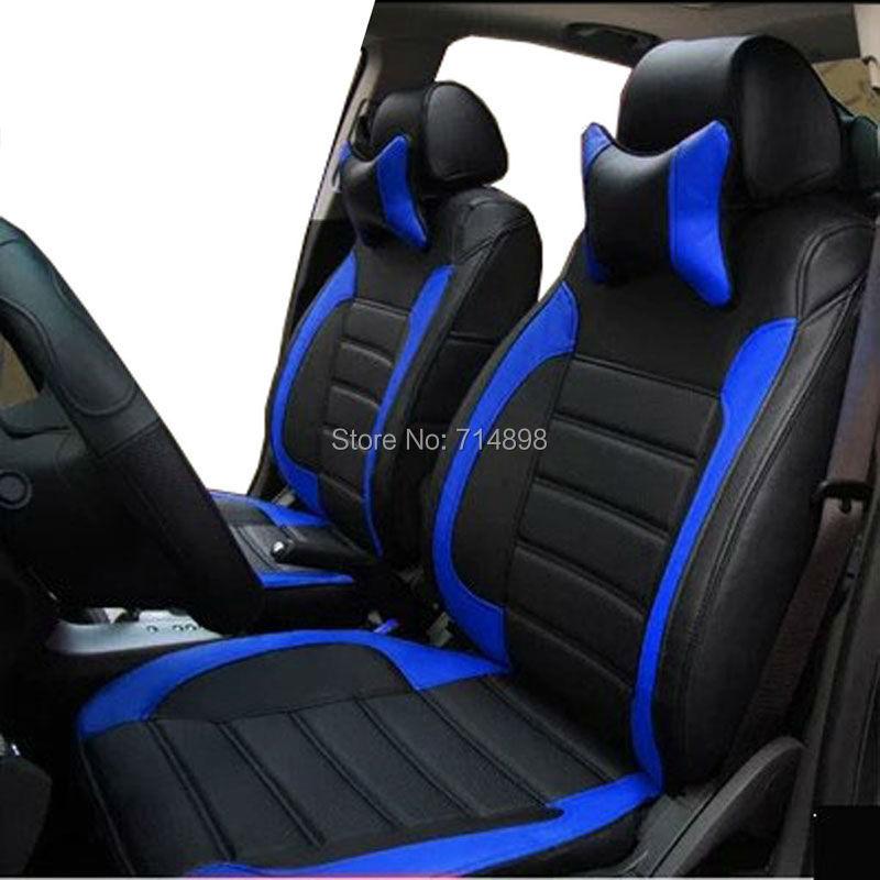 buy car seat cover leather custom proper fit for original car seat 5 or 7. Black Bedroom Furniture Sets. Home Design Ideas