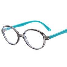 d41330a35f Kids Round Eyewear Frames Anti-blue Ray Eyeglasses TR90 Flexible Children  Computer Glasses Prescription Frame
