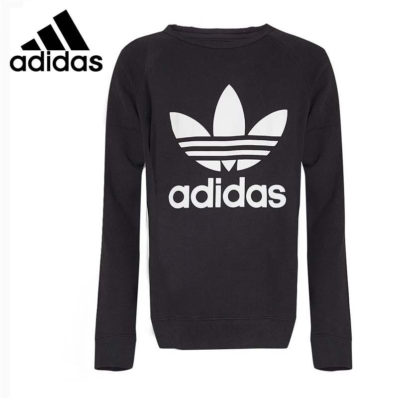 Original New Arrival 2017 Adidas Originals TREFOIL CREW Men's Pullover Jerseys Sportswear adidas new arrival official originals trefoil sweatshirt women s pullover jerseys sportswear aj8397