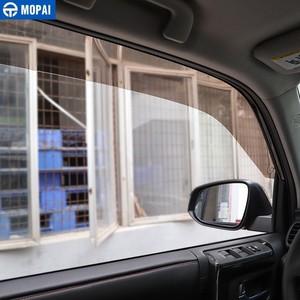 Image 5 - موباي المظلات الملاجئ لتويوتا 4 عداء نافذة السيارة قناع تنفيس الظل الشمس المطر الحرس لتويوتا 4 عداء 2014 + اكسسوارات السيارات