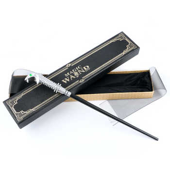 New arrive Popular Metal Core Deluxe COS Colsplay Core Lucius malfoy Harri Movie Magic Magical Wand Gift Box Packing - DISCOUNT ITEM  37% OFF All Category