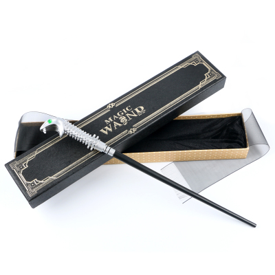 New arrive Popular Metal Core Deluxe COS Colsplay Core Lucius malfoy Harry Potter Magic Magical Wand Gift Box Packing 2017 metal iron core draco malfoy magic wand harry potter magical wand gift box packing
