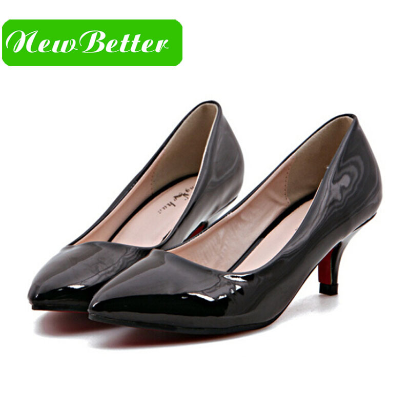 Aliexpress.com : Buy 2 inch heels pointed toe high heel red sole ...