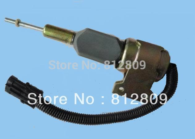 Fuel Shutdown Solenoid Valve 3932529 SA-4756-12 Engine 4BT 6BT+fast free shipping by TNT/DHL,UPS недорого