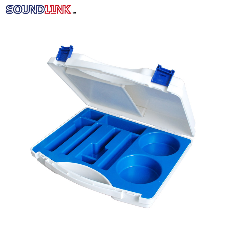 ФОТО Free Shipping! Plastic Material Case Impression Taking Kit Box For Dispensers Audiologist