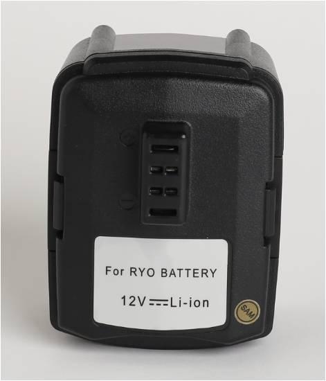 power tool battery,RYO 12V 3000mAh,130503001,130503005,BPL-1220,CB120L,BID-1201,CAH120LK,CD100,CK212DA,CKF-120LM,CR-1201