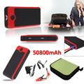 T.Face 50800mAh Multi Functional Car Emergency Jump Starter Power Bank External Backup Battery Charger for Mobile Phone Tablet