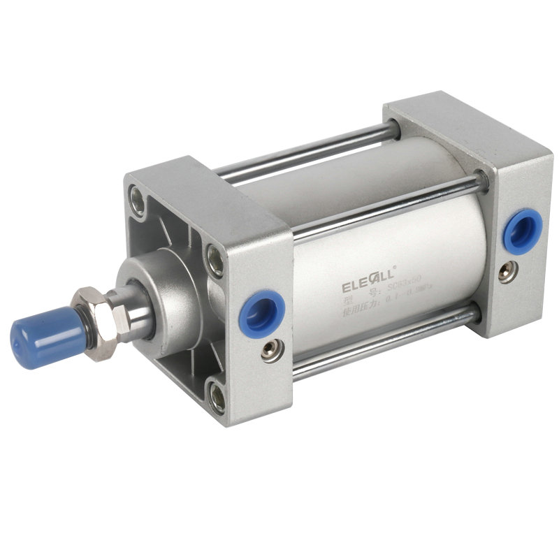 stroke compact double acting pneumatic cylinder SC63 * 100 stroke compact double acting pneumatic cylinder sc63 100