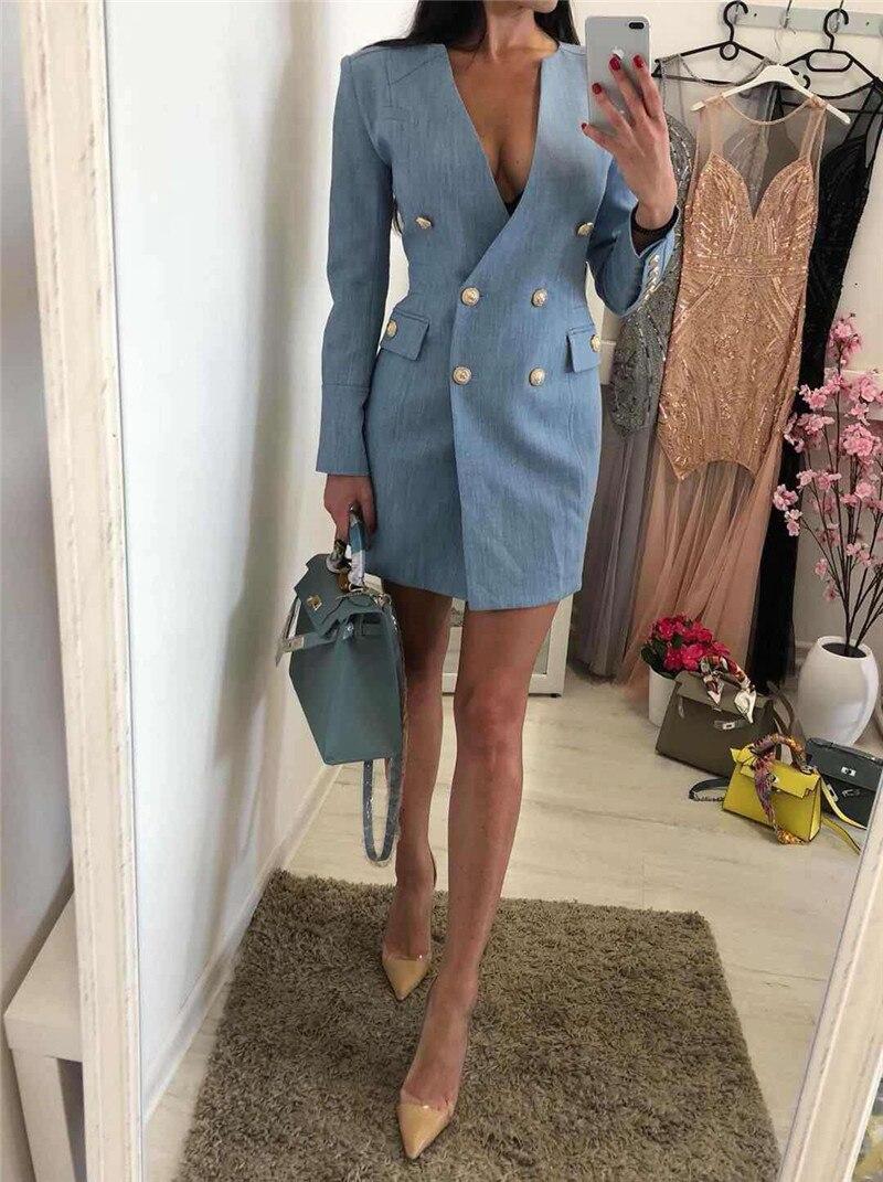 019a0d9088f Haute-qualit-manches-longues-col-en-V-bouton-bleu-Mini-Sexy-femmes-robes -c-l-brit.jpg