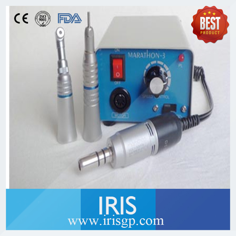 Dental Lab Micromotor Hand piece High Speed 35000rpm Marathon3 M33E Contra Angle / Straight Machine Micromotor Hand piece Polish dental lab equipment polisher micromotor hand piece contra angle and straight high speed 50 000rpm electric grinder brushless