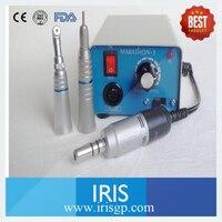 Dental Lab Micromotor Handpiece High Speed 35000 RPM Marathon3 M33E Bending Straight Machine Micromotor Handpiece Polishing