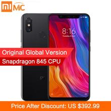 "Global Version Xiaomi Mi 8 6GB 128GB MIUI 10 Smartphone 20MP Front Camera Snapdragon 845 Octa Core 6.21"" 18.7:9 Full Screen NFC"