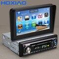 Nueva 1 Din Coches Reproductor de DVD Gps de Navegación 1din universal Car Radio mp3 usb Bluetooth volante música de Vídeo cámara de 7 pulgadas scre