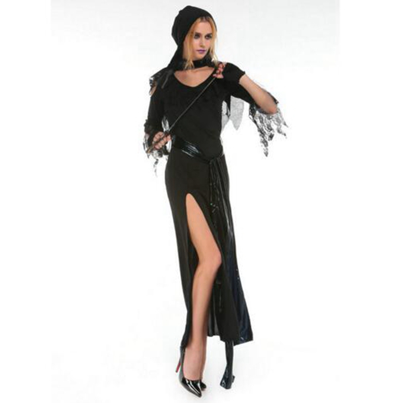 Adult Witch Costume Devil Robes Masquerade Costumes Devil Dess Witch Cosplay Clothing Halloween Costumes Party Supplies
