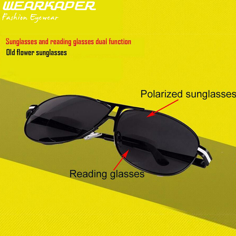 Polarized Bifocal Reading Sunglasses  online whole bifocal sunglasses from china bifocal